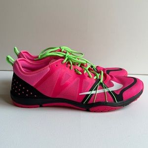 Nike Free Cross Compete Trainers Hot Pink 10